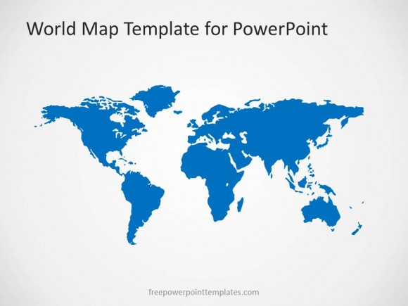 World Map Powerpoint Template Images World Map Editable - Image world map