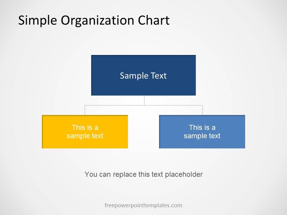 Sample Chart Templates organization chart free template : Free Organizational Chart Template for PowerPoint