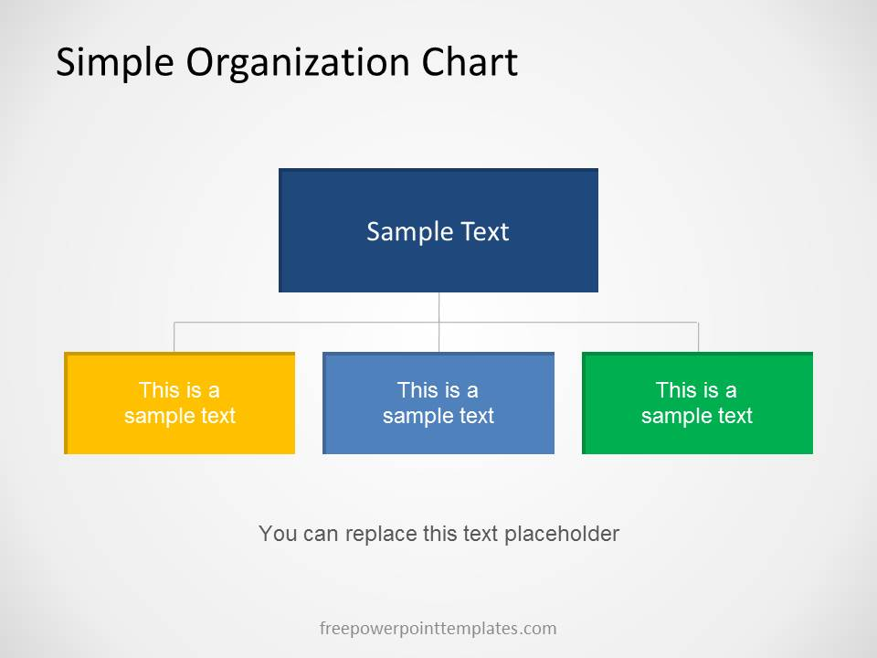 power point org chart template - 0013 02 organization chart 2 free powerpoint templates
