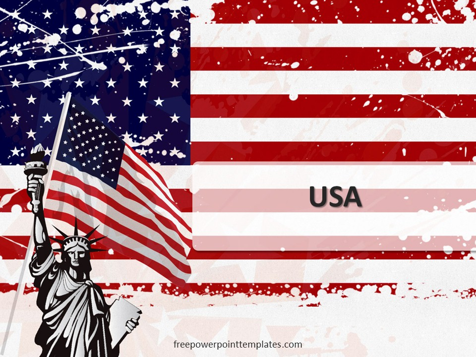 free usa powerpoint template