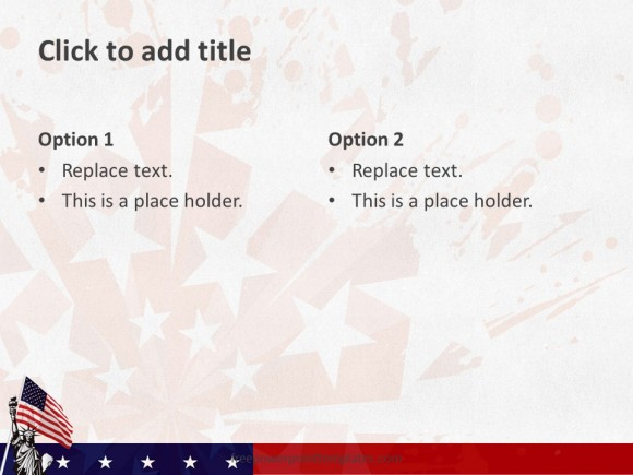 10103 Usa Flag Freepowerpointtemplates 5 Free Powerpoint Templates