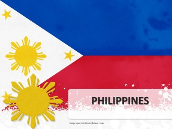 Free philippines powerpoint template toneelgroepblik Images