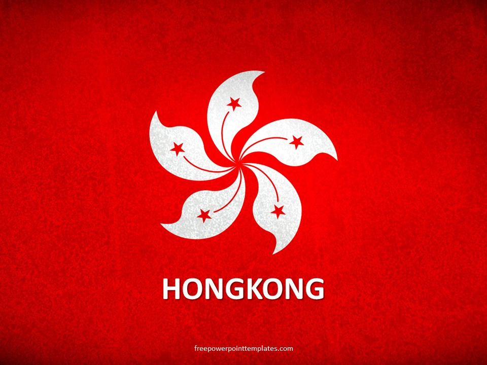 free hong kong powerpoint template