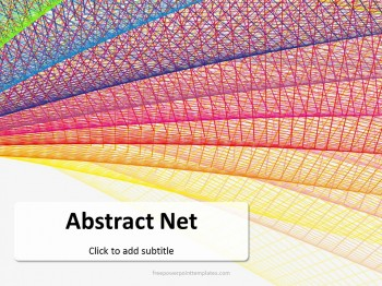 Free abstract net powerpoint template toneelgroepblik Images