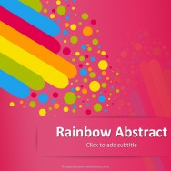 Free education powerpoint templates free pink rainbow abstract powerpoint template toneelgroepblik