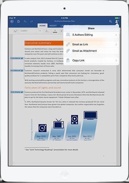 Office 365 On The Ipad Free Powerpoint Templates