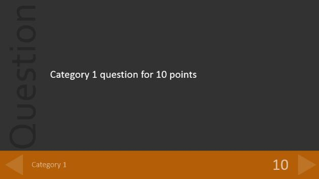 powerpoint quiz template