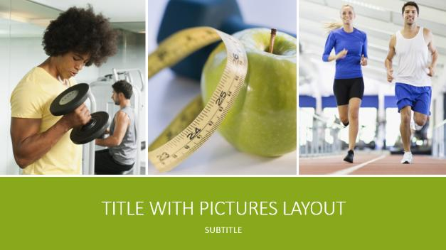 Free Fitness Routine Template for PowerPoint Free PowerPoint – Fitness Templates Free