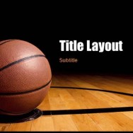 Free Basketball Template for PowerPoint Online 1