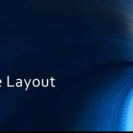 Free Blue Tunnel Template for PowerPoint Online 1