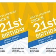 Free Birthday Invitations Template