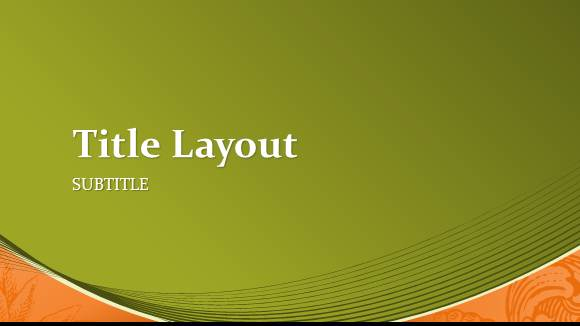online powerpoint template