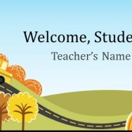 Free Elementary School Teacher Template for PowerPoint Online 1