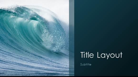 Free waves template for powerpoint online free powerpoint templates free sea waves template for powerpoint online 1 toneelgroepblik Images
