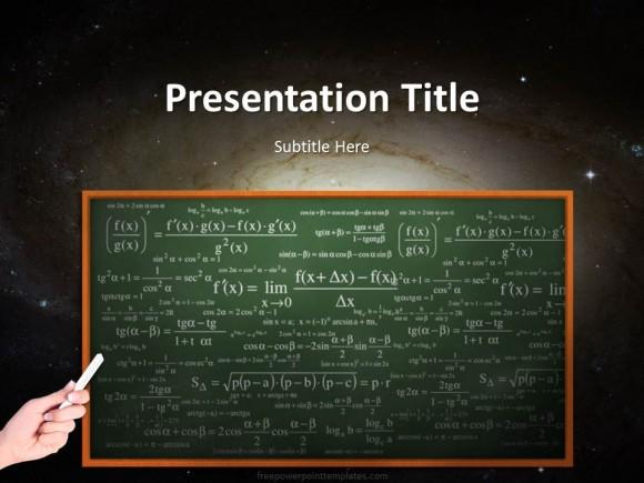 20247 science chalkboard powerpoint template 1 free for Chalkboard powerpoint templates free download