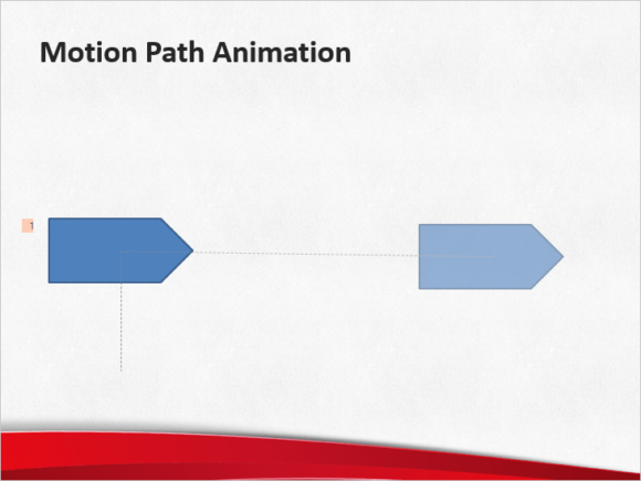 Animate -- Animation tab - Add Animation - Motion Paths - Lines - 2 - FreePowerPointTemplates