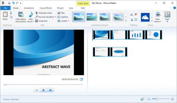 Audio and Video - Windows Movie Maker - Cover -2- FreePowerPointTemplates