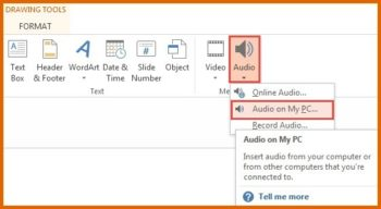 Background Music -- How To Insert Audio in PowerPoint 2013 - Featured - FreePowerPointTemplates