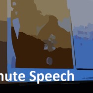 Black Slide -- 5 Minute Speech - Featured - FreePowerPointTemplates