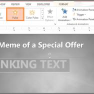 Blinking Text -- Featured - FreePowerPointTemplates
