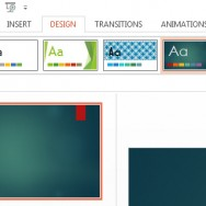 Change Slide Background in PowerPoint 2013 1