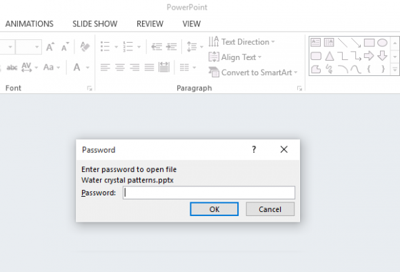 Click File menu - Protect Presentation 4 - Powerpoint 2013 - freepowerpointtemplates
