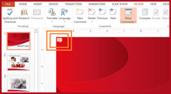 Comments in PowerPoint -- Featured - FreePowerPointTemplates