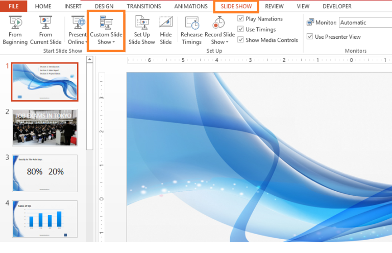 Customized Powerpoint Templates