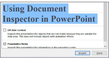 Document Inspector - Featured - FreePowerPointTemplates
