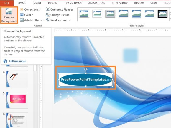 2 cool tips on how to edit using powerpoint free powerpoint edit color removal powerpoint 2013 step 2 freepowerpointtemplates toneelgroepblik Images