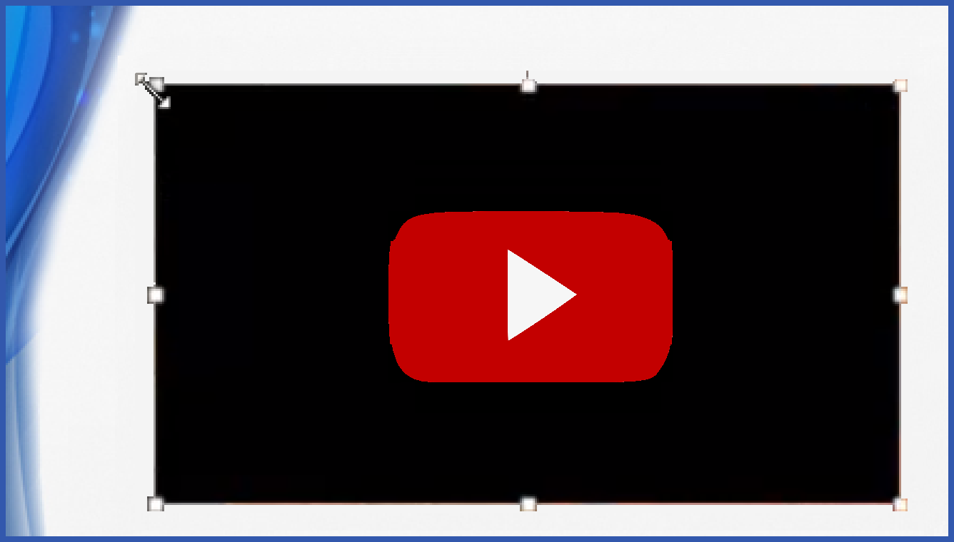 how to put a video on a powerpoint from youtube