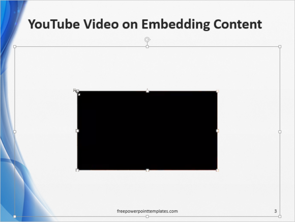 Embed -- YouTube - Share - Embed - Template - Insert Video - 3 - FreePowerPointTemplates
