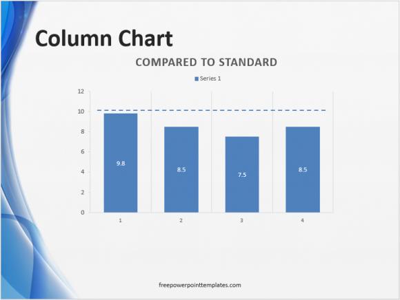 Figures - Standard Comparison Chart - 2 - FreePowerPointTemplates