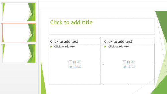 free facet template for powerpoint online free powerpoint templates