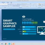 Free Graphics Sampler PowerPoint Template 1