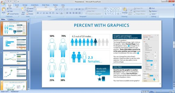 Free graphics sampler powerpoint template free powerpoint templates you have the option change the colors of the elements these graphics like the pie chart in the previous sample slide are usable in other documents toneelgroepblik Gallery