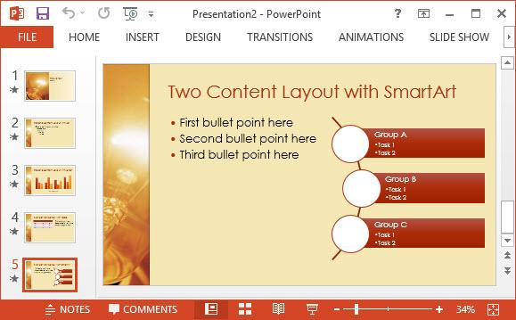 Free Idea Design PPT Template 3