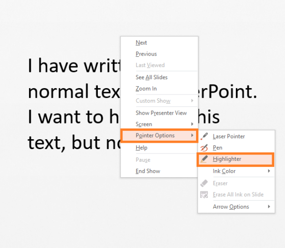 Highlight -- Highlighting Text - 2 - FreePowerPointTemplates