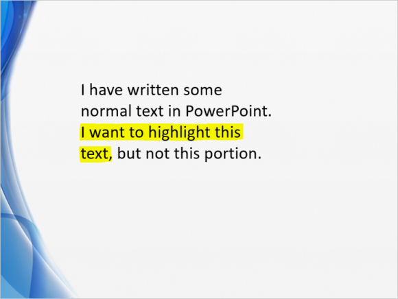 Highlight -- Highlighting Text - 6 - Eraser - FreePowerPointTemplates