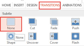 How To Apply Transition Effects in PowerPoint 2013 - Free ...