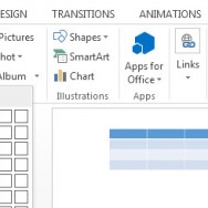 How To Create a Table in PowerPoint 2013 2