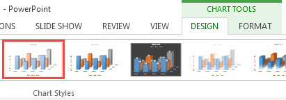 How To Format a Chart in PowerPoint 2013 3