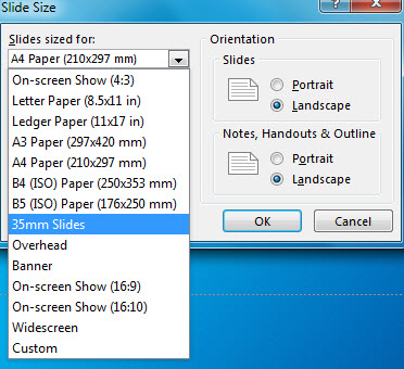 How to Change Page Setup in PowerPoint 2013 - Free PowerPoint ...