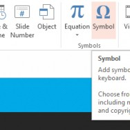 Insert Symbols and Equations in PowerPoint 2013 11