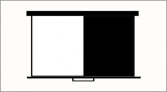 Keyboard - Black or White - FreePowerPointTemplates