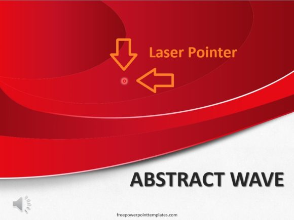Laser Pointer -- Example - FreePowerPointTemplates