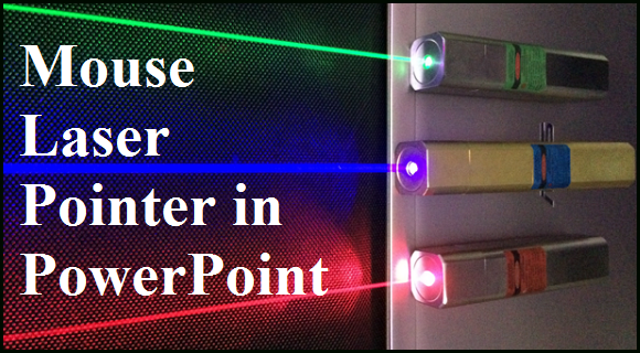 How to use your mouse as a laser pointer free powerpoint templates toneelgroepblik Choice Image