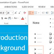 Numbered & Bulleted Lists in PowerPoint 2013 1