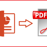 PowerPoint Files -- To PDF - Featured - FreePowerPointTemplates