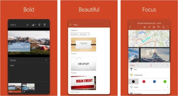 PowerPoint Presentations -- Screenshot - Google Play store - FreePowerPointTemplates